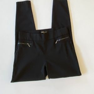 Dalia Black Skinny Pants - 8